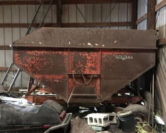 Parker GRavity Box Grain Wagon