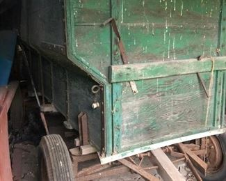 Old Barn Wooden Trailer
