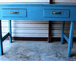 Worktable with Two Drawers - Very Sturdy