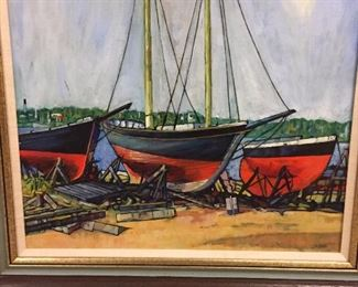 Painting by Cavan but unsure if this is correct name