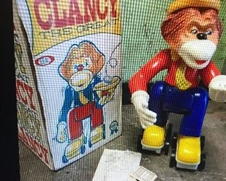 VINTAGE CLANCY THE GREAT WITH ORGINAL BOX