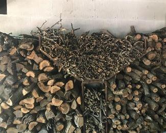 Seasoned oak in all forms.
