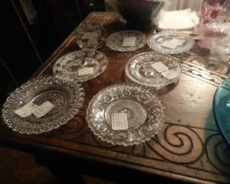 old pattern glass