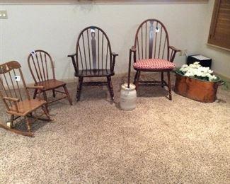 Windsor chair family......