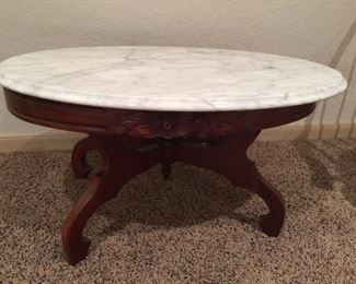 Lovely marble top table