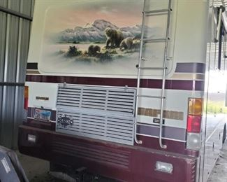 BACK OF RV