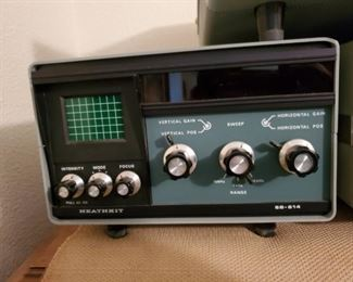Heathkit Sb-614 Station Monitor Scope