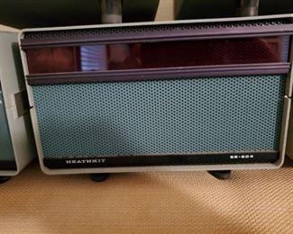 Heathkit Sb-604 Ham Transceiver Power Supply and Speaker