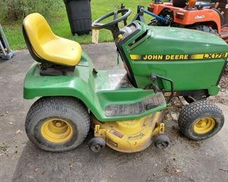 JOHN DEERE LX178  RIDING MOWER....$650 OR BEST OFFER