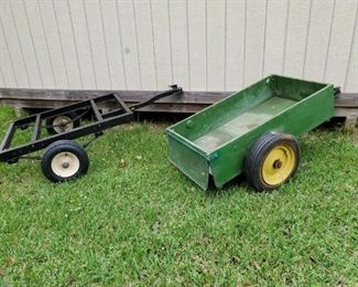 2 SMALL SIZE UTILITY TRAILERS