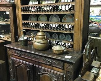 1850's Country French cupboard