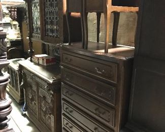 Six drawer French chest