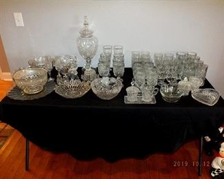 Glassware / crystal