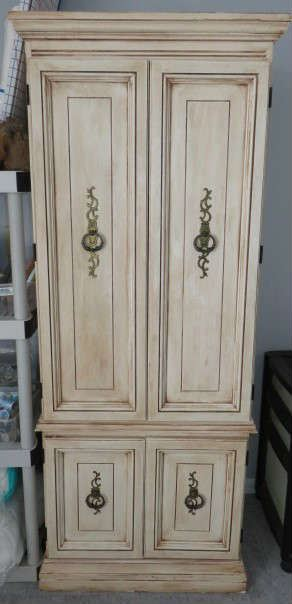 Singer Space Saver Sewing Armoire Cabinet