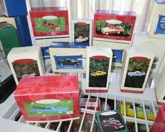 Hallmark Classic Car & Truck Ornaments