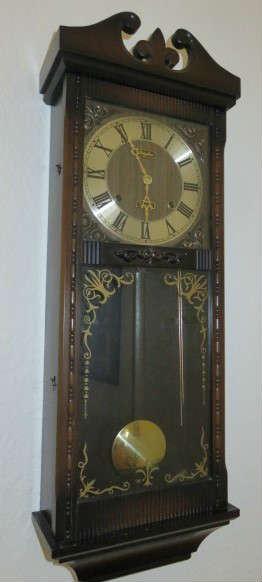 Vintage Rhythm Wall Clock