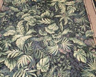 Tropical Leaf Area Rug
