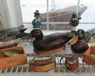 Wood Duck Decoys, Hand Made Fishing Lures
