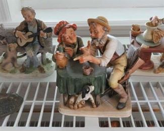 Vintage Bisque Figurines Japan