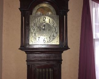 1916 Herschede grandfather clock-works perfectly!