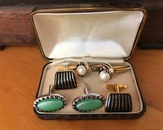 1950s classic cufflinks