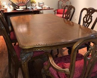 Dining Table 72 x 44 x 32 ( leaf also available)