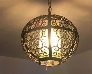 Imported Mexican light fixture
