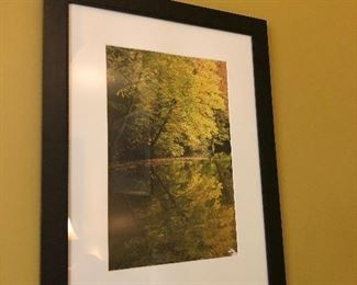 original photographic framed art.