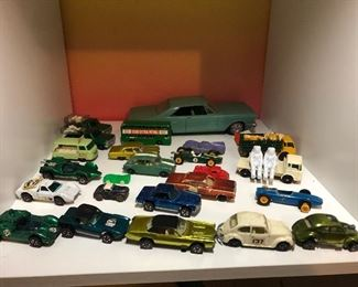 Vintage toy cars ~ we have divided into 3 lots.