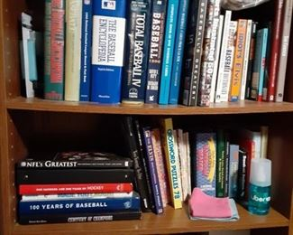Multiple sports related books