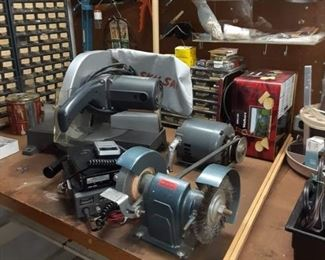 Grinder and chop saw