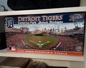 Detroit Tigers Comerica Park puzzle