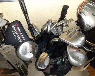 Callaway and Nike drivers golf clubs