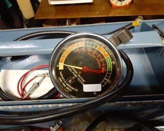 Automobile testing equipment