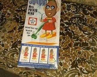 1960's Jumpin Mrs. Potato Head Toy