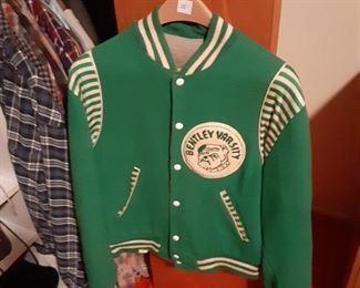 Vintage Bentley High School letter jacket