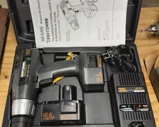 Craftsman battery operated drill needs replacement batteries