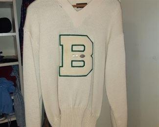 Bentley High School sweater
