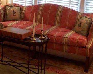 0139 Main Building Living Room Camel Back Sofa profile