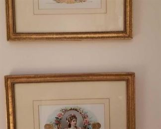 0163 Main Building Living Room Framed Lithographs profile
