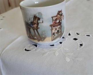 0685 Main Building Kitchen Tea cup profile