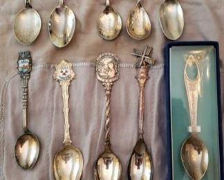 1138 Main Building Kitchen Souvenir Demitasse Spoons profile