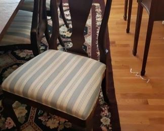 1627 Main Building Dining Room Dining chair profile