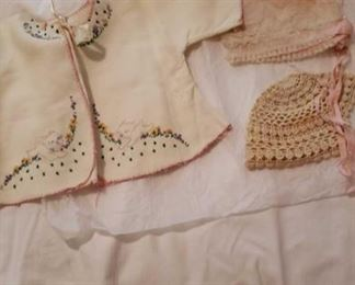 1793 Main Building Bedroom Upstairs Handmade Baby Clothes profile