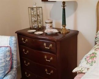 1886 Main Building Bedroom Upstairs 4 Drawer Chest profile
