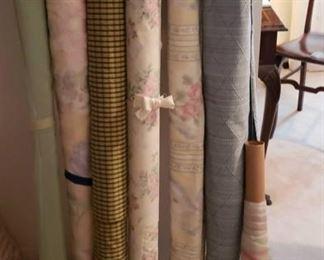 1912 Main Building Bedroom Closet Fabric Rolls profile