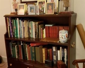1994 Main Building Sitting Room Bookcase w 2 drawers profile