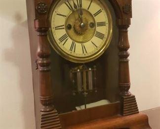 2069 Main Building Sitting Room Shelf Clock profile