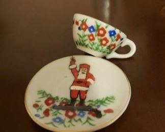 2094 Main Building Sitting Room Toy santa tea cup profile