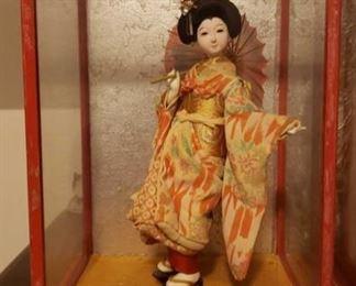 2126 Main Building Sitting Room Geisha Dolls Individual Photographs